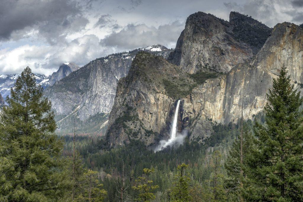 Cascade Bridalveil à Yosemite